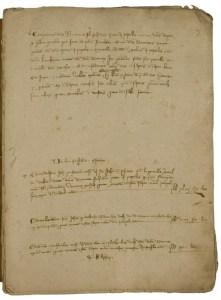 Estimo di Romeo Pepoli e altri membri della famiglia, 1315 (Archivio di Stato di Bologna)