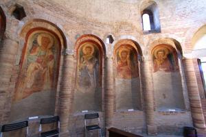 immagine degli affreschi della rotonda