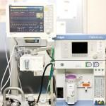 麻酔器+ 生体情報モニター