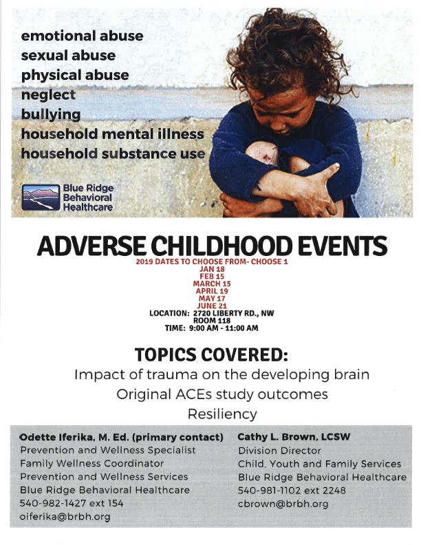 Adverse Childhood Events Aces Training Nonprofit Roanoke