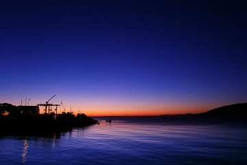 Bodø al tramonto