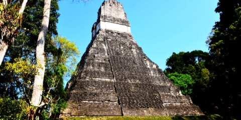 Le rovine Maya di Tikal in Guatemala