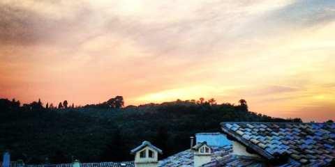 Spoleto, Umbria - tramonto