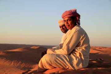 Omaniti a Wahiba Sands