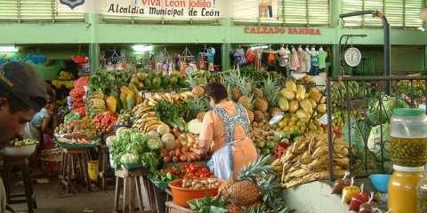 Cibo di strada in Nicaragua
