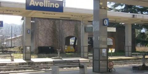 Stazione di Avellino, Italia - Settima Giornata Nazionale delle Ferrovie Dimenticate