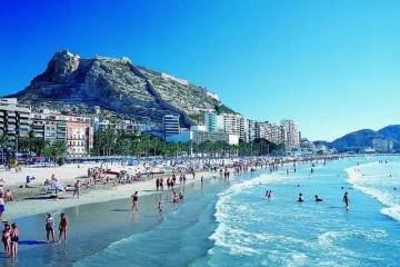 Playa El Postiguet_Alicante_Comunitat Valenciana