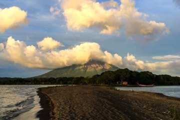 vulcano conception da Punta jesus Maria