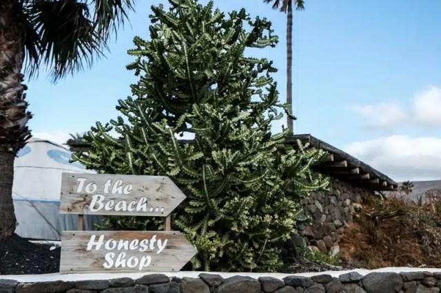 Honesty Shop - Lanzarote, Canarie