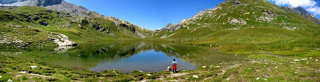 Lago Grande - Valchiavenna, Italia