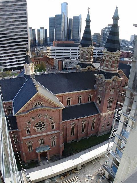 Old St Mary's Church - Detroit, Michigan, USA