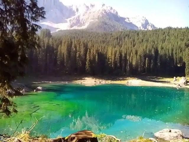 Viaggio in moto - Lago di Carezza, Alto Adige