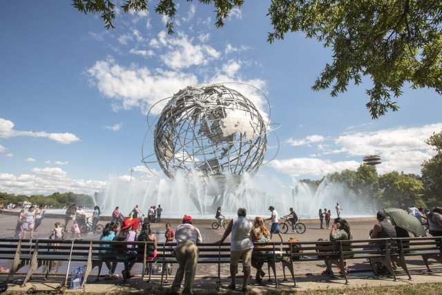 Unisphere - Corona, Queens, NYC, USA