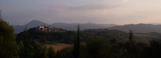 La via del tabacco in Umbria - Montone