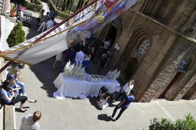 Matrimonio alla Panagia Chalkeon - Salonicco, Grecia