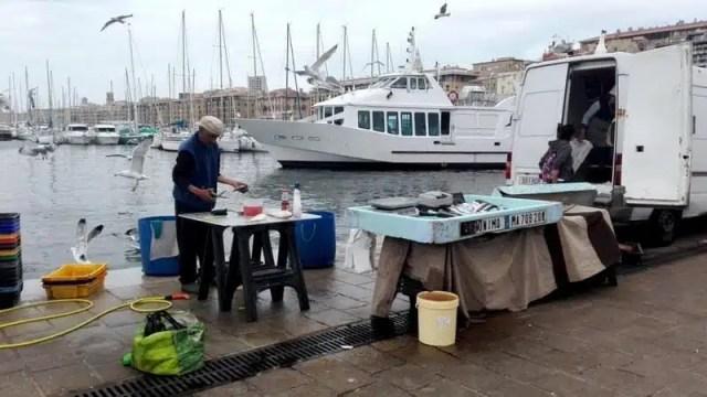 Vieux Port - Marsiglia, Francia