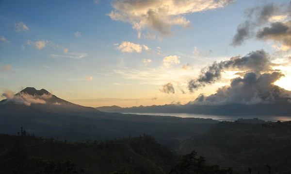 photo volcan bali