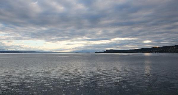 Lac Taupo en Nouvelle-Zélande
