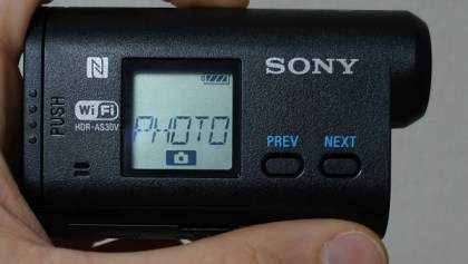 Sony HDR AS30V Test action cam