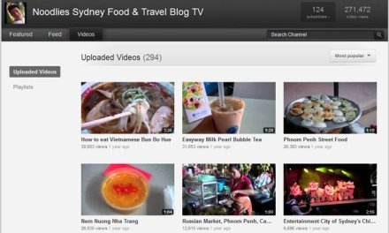 Noodlies food and travel TV and other milestones
