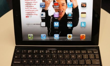 Logitech Ultrathin Keyboard Cover for iPad Noodlies Review
