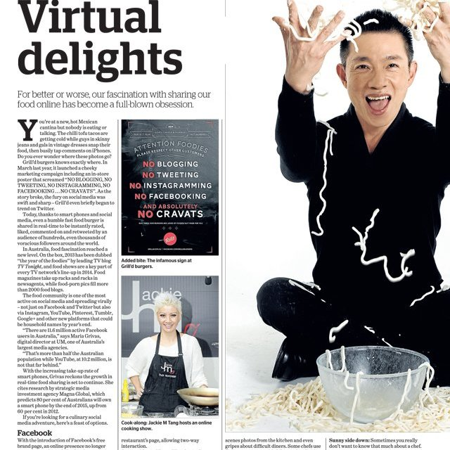 Virtual Delights, Epicure, The Age