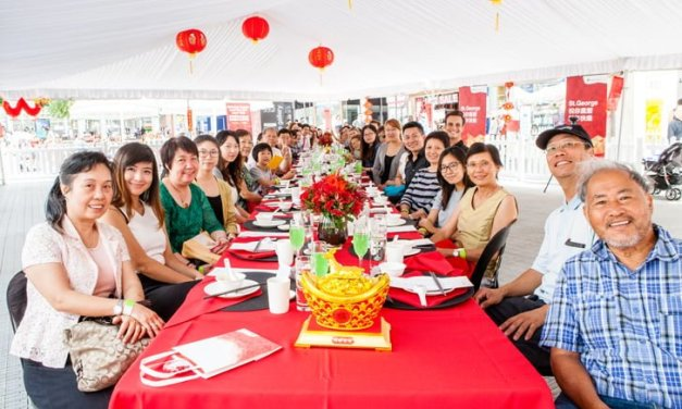 St.George Australia's Longest Lunar New Year Table