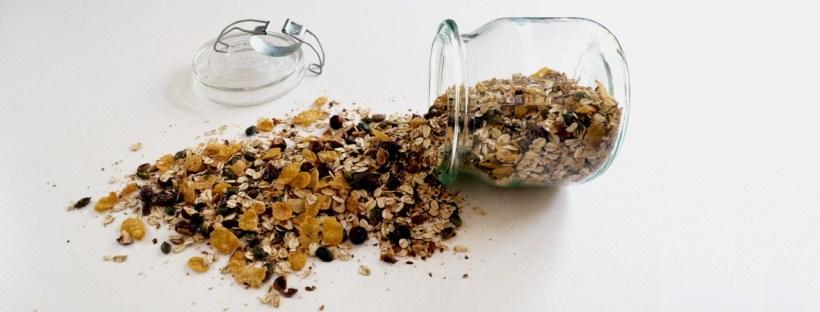 Müsli aus resten selbst machen. gesund, ohne Zucker und individuell