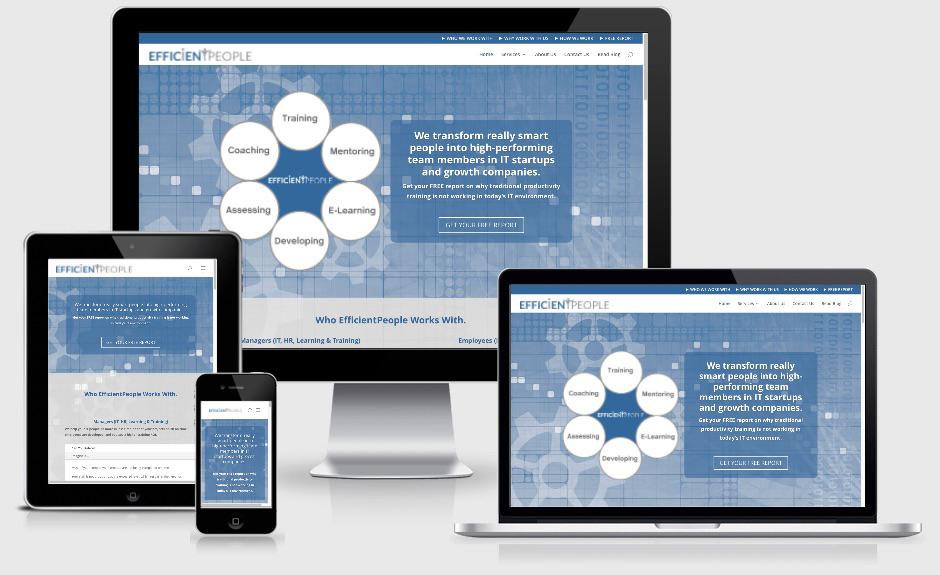 IT Training & Coaching Website Design