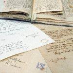 Foto von Briefen der Grimms (Foto: Harry Soremski)