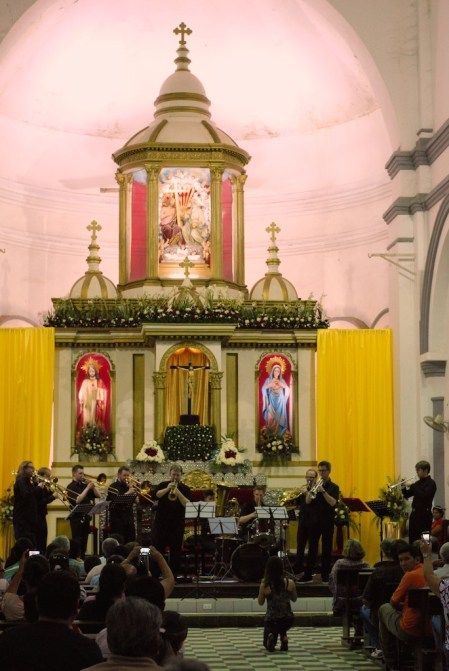 Concert in Trinidad Cathedral