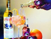 Lillet-Cherry Blossom Tonic