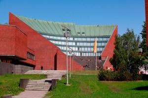 Conference building © Mikko Raskinen, Aalto University