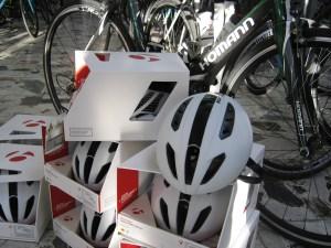 Die neuen Bontrager Helme von Zweirad Homann.