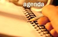 Agenda do Dia: Ter, 18 Abril