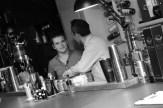 Robert Zajaczkowski behind the bar