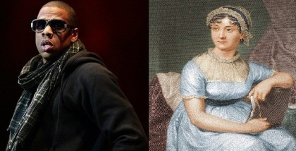 Sagittarius/Libras Jay Z and Jane Austen have more in common that you might think. (Jay Z Photo: Nrk-p3, Flickr)
