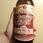 Bombay Rouge Red IPA 22 oz bottle