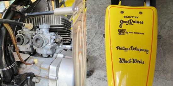 1975 Yamaha TA125 R Engine