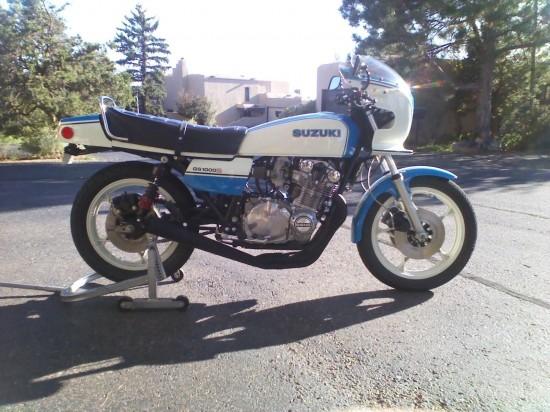 1980 Suzuki GS1000S R Side