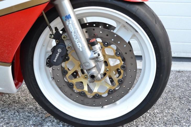 20150930 1988 bimota yb6 right front wheel