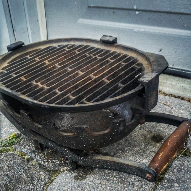 Large Of Cast Iron Hibachi Grill