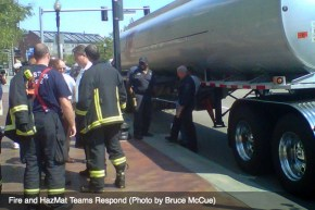 HazMat Truck Leak Atlantic Avenue - by Bruce McCue