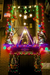 All Saints Way - Merry Christmas - December 2012 - Photo by Matt Conti