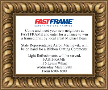 Framed Invite FF569 flat