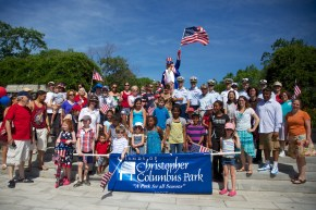 Group Shot - 4th of July 2012 Celebration Family Fun Day at Christopher Columbus Park