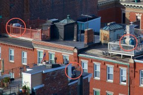 3 Roofdecks, 3 Gas Grills