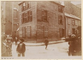Corner of Unity and Charter Streets 1893 (Courtesy of Boston Public Library)