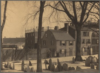 Singleton House on Charter St. 1898 (Courtesy of Boston Public Library)