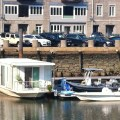 Houseboat at Commercial Wharf